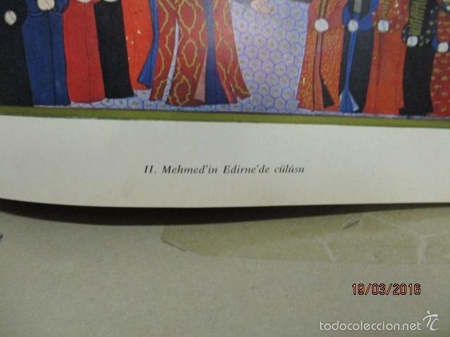 Libros de segunda mano: Espectacular libro de la historia de los Sultanes de 47 cm x 33,5 cm. (en turco - ver fotos) 1969 - Foto 60 - 55226079