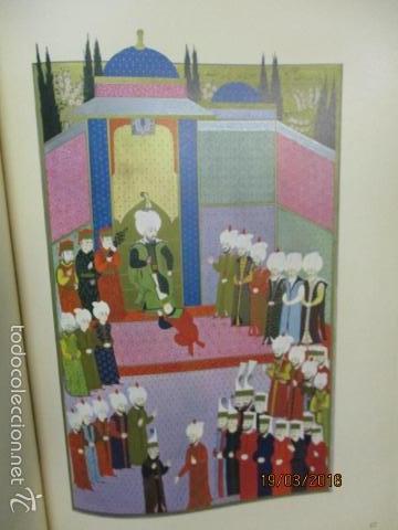 Libros de segunda mano: Espectacular libro de la historia de los Sultanes de 47 cm x 33,5 cm. (en turco - ver fotos) 1969 - Foto 61 - 55226079
