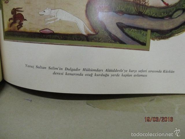 Libros de segunda mano: Espectacular libro de la historia de los Sultanes de 47 cm x 33,5 cm. (en turco - ver fotos) 1969 - Foto 66 - 55226079