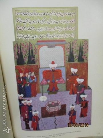 Libros de segunda mano: Espectacular libro de la historia de los Sultanes de 47 cm x 33,5 cm. (en turco - ver fotos) 1969 - Foto 70 - 55226079