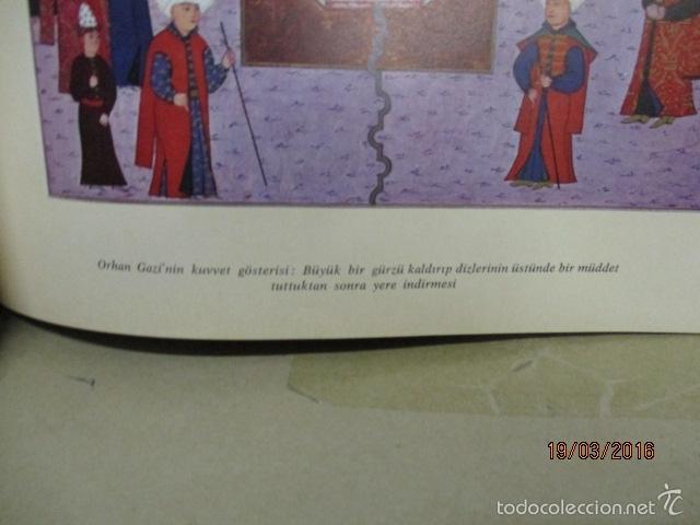 Libros de segunda mano: Espectacular libro de la historia de los Sultanes de 47 cm x 33,5 cm. (en turco - ver fotos) 1969 - Foto 71 - 55226079