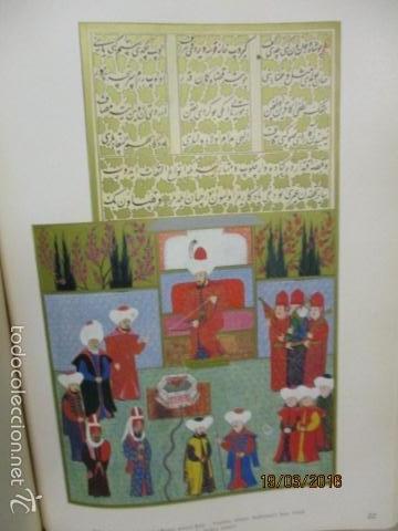 Libros de segunda mano: Espectacular libro de la historia de los Sultanes de 47 cm x 33,5 cm. (en turco - ver fotos) 1969 - Foto 72 - 55226079