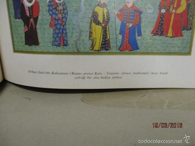 Libros de segunda mano: Espectacular libro de la historia de los Sultanes de 47 cm x 33,5 cm. (en turco - ver fotos) 1969 - Foto 73 - 55226079