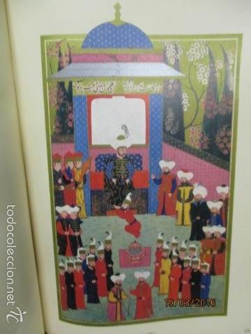 Libros de segunda mano: Espectacular libro de la historia de los Sultanes de 47 cm x 33,5 cm. (en turco - ver fotos) 1969 - Foto 74 - 55226079