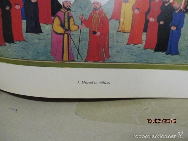 Libros de segunda mano: Espectacular libro de la historia de los Sultanes de 47 cm x 33,5 cm. (en turco - ver fotos) 1969 - Foto 75 - 55226079