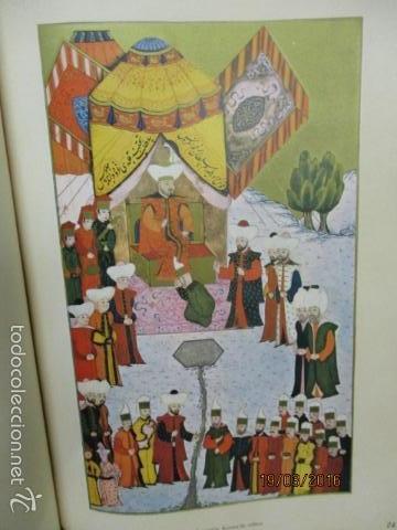 Libros de segunda mano: Espectacular libro de la historia de los Sultanes de 47 cm x 33,5 cm. (en turco - ver fotos) 1969 - Foto 76 - 55226079