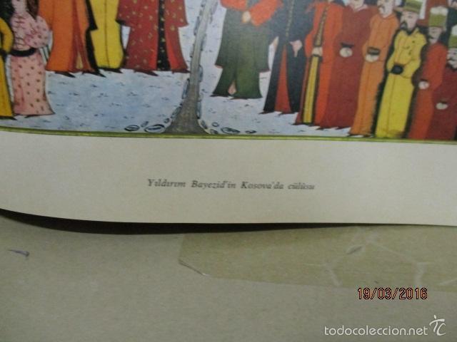 Libros de segunda mano: Espectacular libro de la historia de los Sultanes de 47 cm x 33,5 cm. (en turco - ver fotos) 1969 - Foto 77 - 55226079