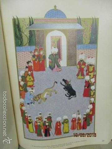 Libros de segunda mano: Espectacular libro de la historia de los Sultanes de 47 cm x 33,5 cm. (en turco - ver fotos) 1969 - Foto 78 - 55226079