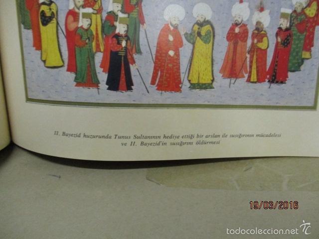 Libros de segunda mano: Espectacular libro de la historia de los Sultanes de 47 cm x 33,5 cm. (en turco - ver fotos) 1969 - Foto 79 - 55226079