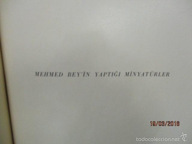 Libros de segunda mano: Espectacular libro de la historia de los Sultanes de 47 cm x 33,5 cm. (en turco - ver fotos) 1969 - Foto 80 - 55226079