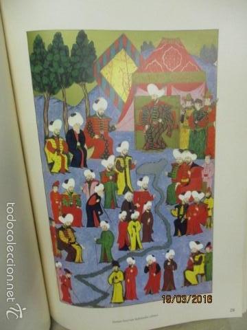 Libros de segunda mano: Espectacular libro de la historia de los Sultanes de 47 cm x 33,5 cm. (en turco - ver fotos) 1969 - Foto 81 - 55226079