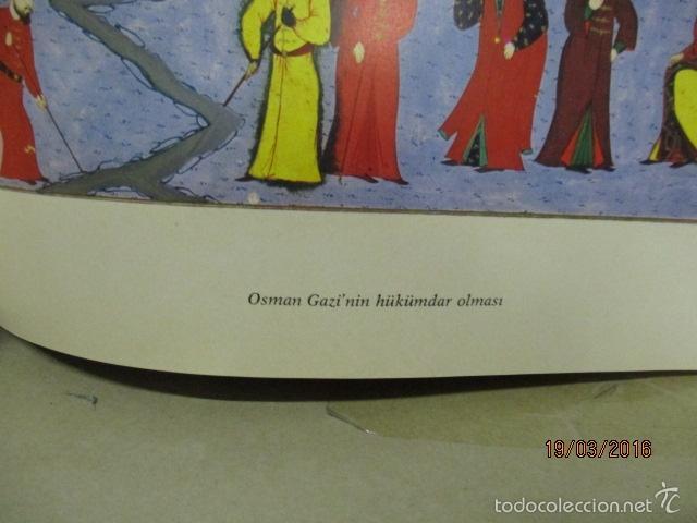 Libros de segunda mano: Espectacular libro de la historia de los Sultanes de 47 cm x 33,5 cm. (en turco - ver fotos) 1969 - Foto 82 - 55226079
