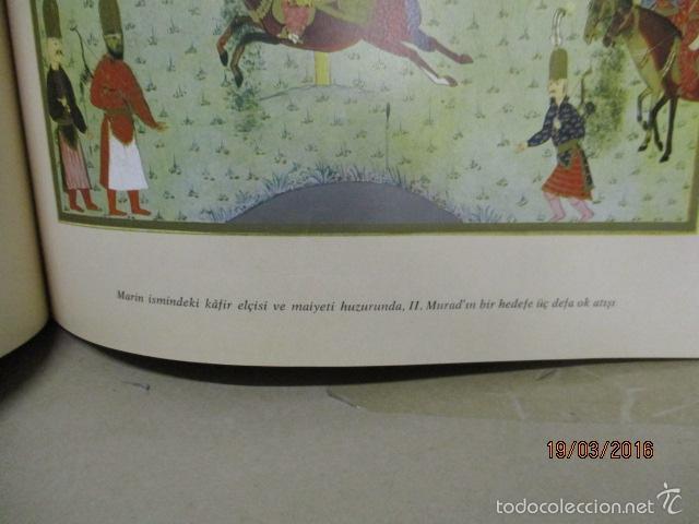 Libros de segunda mano: Espectacular libro de la historia de los Sultanes de 47 cm x 33,5 cm. (en turco - ver fotos) 1969 - Foto 84 - 55226079