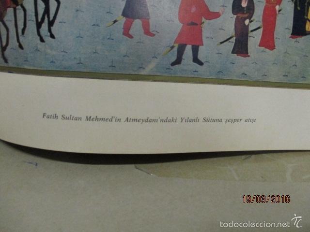 Libros de segunda mano: Espectacular libro de la historia de los Sultanes de 47 cm x 33,5 cm. (en turco - ver fotos) 1969 - Foto 86 - 55226079