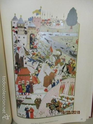 Libros de segunda mano: Espectacular libro de la historia de los Sultanes de 47 cm x 33,5 cm. (en turco - ver fotos) 1969 - Foto 87 - 55226079