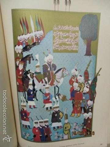Libros de segunda mano: Espectacular libro de la historia de los Sultanes de 47 cm x 33,5 cm. (en turco - ver fotos) 1969 - Foto 89 - 55226079