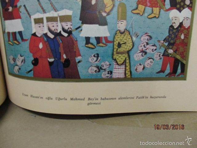 Libros de segunda mano: Espectacular libro de la historia de los Sultanes de 47 cm x 33,5 cm. (en turco - ver fotos) 1969 - Foto 90 - 55226079