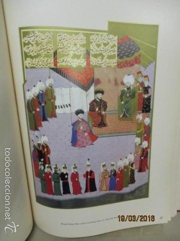 Libros de segunda mano: Espectacular libro de la historia de los Sultanes de 47 cm x 33,5 cm. (en turco - ver fotos) 1969 - Foto 91 - 55226079
