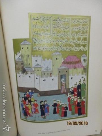 Libros de segunda mano: Espectacular libro de la historia de los Sultanes de 47 cm x 33,5 cm. (en turco - ver fotos) 1969 - Foto 93 - 55226079