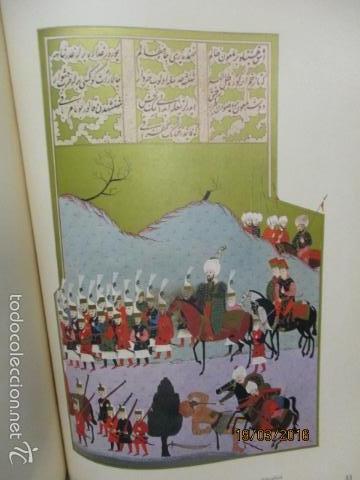 Libros de segunda mano: Espectacular libro de la historia de los Sultanes de 47 cm x 33,5 cm. (en turco - ver fotos) 1969 - Foto 95 - 55226079