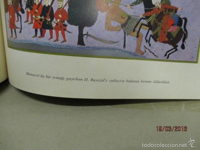 Libros de segunda mano: Espectacular libro de la historia de los Sultanes de 47 cm x 33,5 cm. (en turco - ver fotos) 1969 - Foto 96 - 55226079