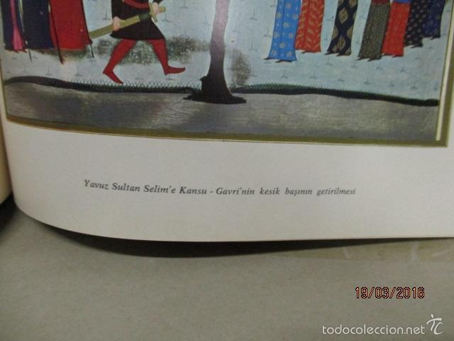 Libros de segunda mano: Espectacular libro de la historia de los Sultanes de 47 cm x 33,5 cm. (en turco - ver fotos) 1969 - Foto 98 - 55226079