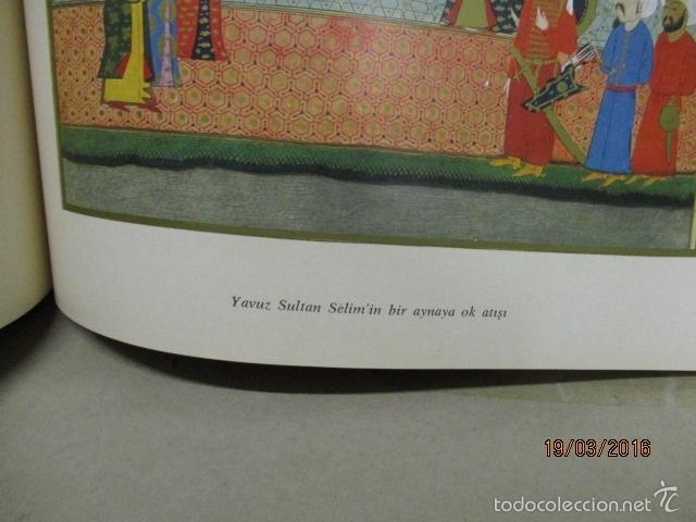 Libros de segunda mano: Espectacular libro de la historia de los Sultanes de 47 cm x 33,5 cm. (en turco - ver fotos) 1969 - Foto 100 - 55226079