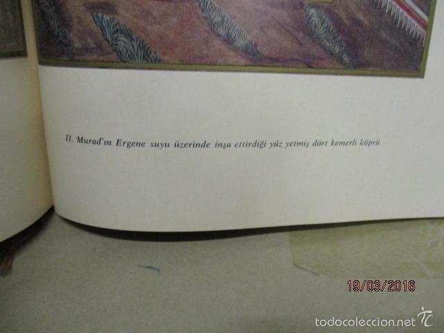 Libros de segunda mano: Espectacular libro de la historia de los Sultanes de 47 cm x 33,5 cm. (en turco - ver fotos) 1969 - Foto 103 - 55226079