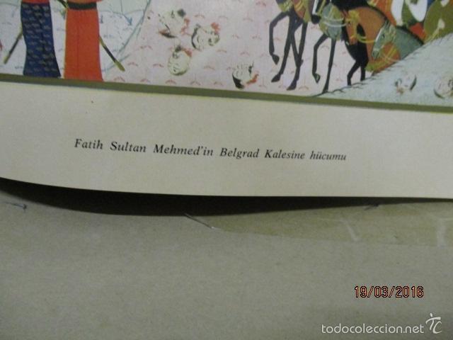 Libros de segunda mano: Espectacular libro de la historia de los Sultanes de 47 cm x 33,5 cm. (en turco - ver fotos) 1969 - Foto 110 - 55226079