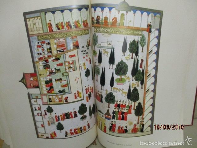 Libros de segunda mano: Espectacular libro de la historia de los Sultanes de 47 cm x 33,5 cm. (en turco - ver fotos) 1969 - Foto 119 - 55226079
