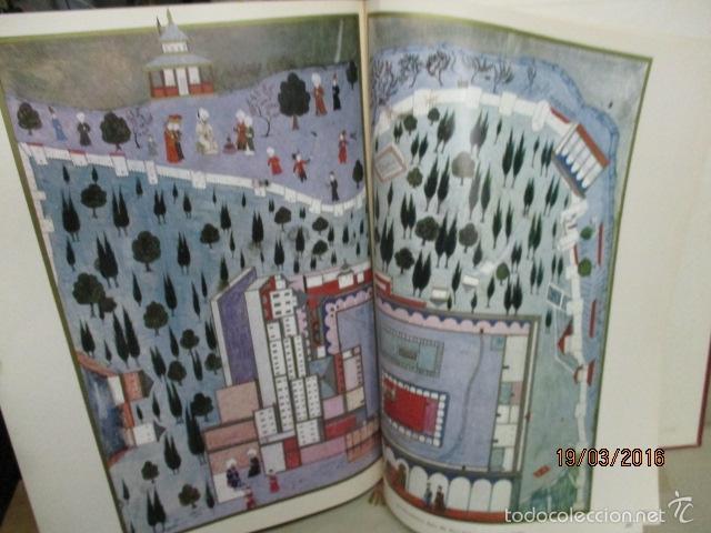 Libros de segunda mano: Espectacular libro de la historia de los Sultanes de 47 cm x 33,5 cm. (en turco - ver fotos) 1969 - Foto 127 - 55226079
