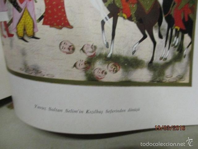 Libros de segunda mano: Espectacular libro de la historia de los Sultanes de 47 cm x 33,5 cm. (en turco - ver fotos) 1969 - Foto 140 - 55226079