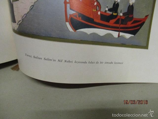 Libros de segunda mano: Espectacular libro de la historia de los Sultanes de 47 cm x 33,5 cm. (en turco - ver fotos) 1969 - Foto 143 - 55226079