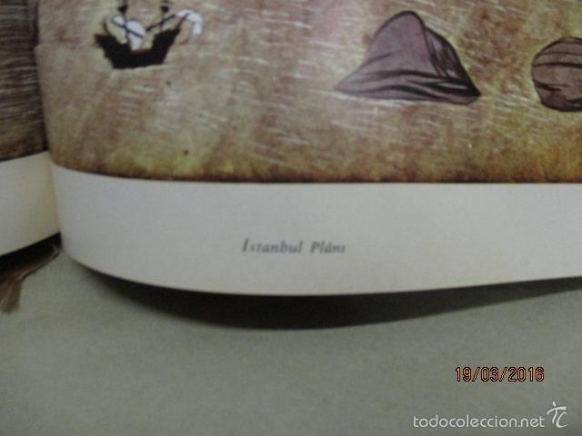 Libros de segunda mano: Espectacular libro de la historia de los Sultanes de 47 cm x 33,5 cm. (en turco - ver fotos) 1969 - Foto 144 - 55226079