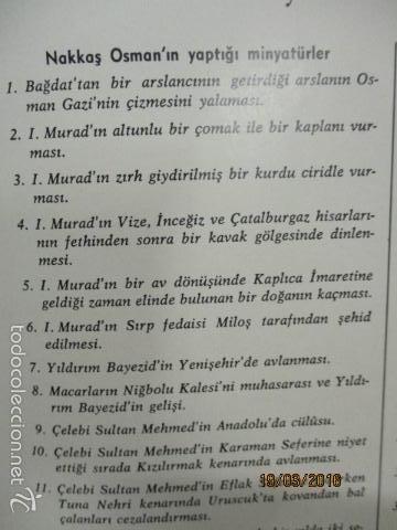 Libros de segunda mano: Espectacular libro de la historia de los Sultanes de 47 cm x 33,5 cm. (en turco - ver fotos) 1969 - Foto 146 - 55226079