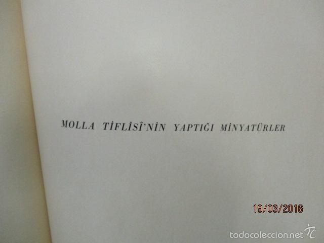 Libros de segunda mano: Espectacular libro de la historia de los Sultanes de 47 cm x 33,5 cm. (en turco - ver fotos) 1969 - Foto 147 - 55226079