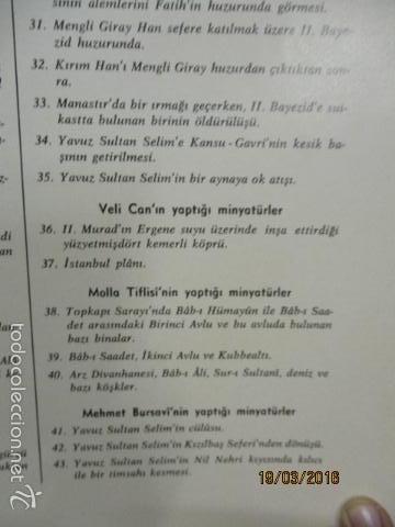 Libros de segunda mano: Espectacular libro de la historia de los Sultanes de 47 cm x 33,5 cm. (en turco - ver fotos) 1969 - Foto 150 - 55226079