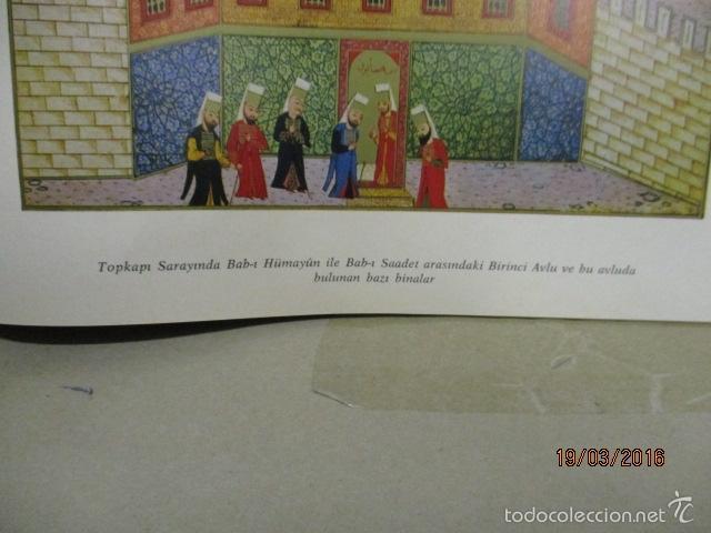 Libros de segunda mano: Espectacular libro de la historia de los Sultanes de 47 cm x 33,5 cm. (en turco - ver fotos) 1969 - Foto 152 - 55226079