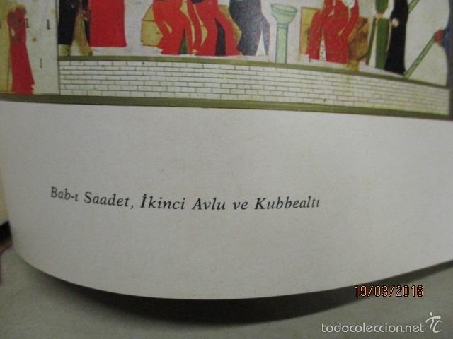 Libros de segunda mano: Espectacular libro de la historia de los Sultanes de 47 cm x 33,5 cm. (en turco - ver fotos) 1969 - Foto 156 - 55226079