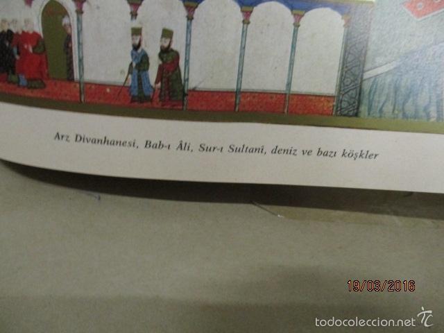 Libros de segunda mano: Espectacular libro de la historia de los Sultanes de 47 cm x 33,5 cm. (en turco - ver fotos) 1969 - Foto 160 - 55226079