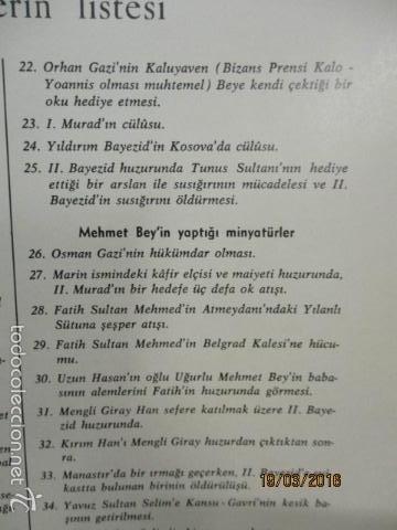 Libros de segunda mano: Espectacular libro de la historia de los Sultanes de 47 cm x 33,5 cm. (en turco - ver fotos) 1969 - Foto 171 - 55226079