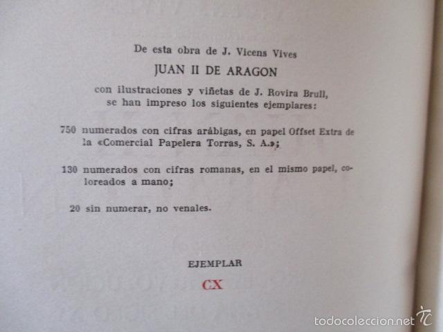Libros de segunda mano: Juan II de Aragon (1398 - 1479) - J. Vicens Vives - Monarquia y Revolución en la España del siglo XV - Foto 10 - 56216772