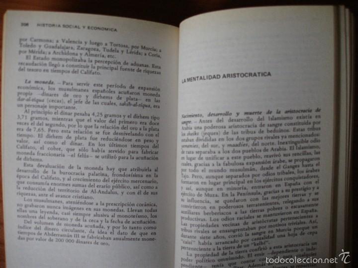Libros de segunda mano: Historia de España y América social y económica. Volumen I (Vicens bolsillo, 1977). - Foto 3 - 56609434