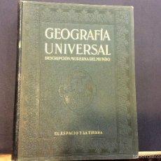 Libros de segunda mano: GEOGRAFÍA UNIVERSAL TOMO I. Lote 56609785