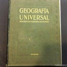 Libros de segunda mano: GEOGRAFÍA UNIVERSAL EUROPA TOMO II. Lote 56610030