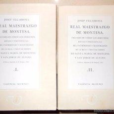 Libros de segunda mano: REAL MAESTRAZGO DE MONTESA. Lote 12167932