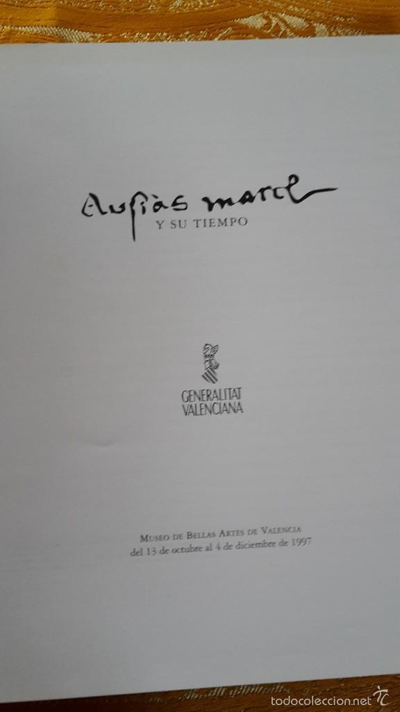 Libros de segunda mano: AUSIAS MARCH Y SU TIEMPO - Foto 2 - 56936860