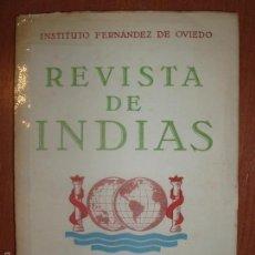 Libros de segunda mano: REVISTA DE INDIAS. AÑO 1957. SUMARIO FOTOGRAFIADO.. Lote 57120612