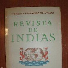 Libros de segunda mano: REVISTA DE INDIAS. AÑO 1955. SUMARIO FOTOGRAFIADO.. Lote 57120636