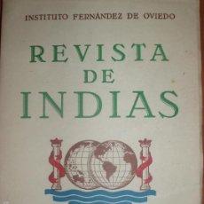 Libros de segunda mano: REVISTA DE INDIAS. AÑO 1954. SUMARIO FOTOGRAFIADO.. Lote 57120650